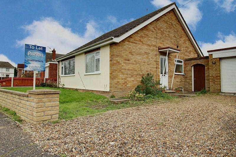 2 Bedrooms Detached Bungalow for rent in Coles Way, Reepham, Norwich