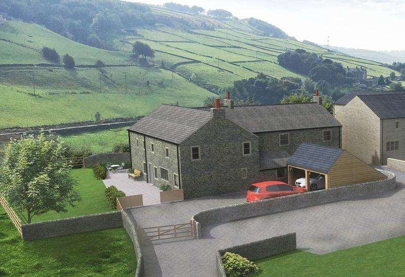5 Bedrooms Farm House Character Property for sale in Beestones Farmhouse, Beestonley Lane, Stainland, HX4 9PN