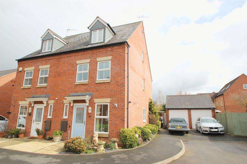 3 Bedrooms Semi Detached House for sale in Chesterton Drive, Stratford-Upon-Avon