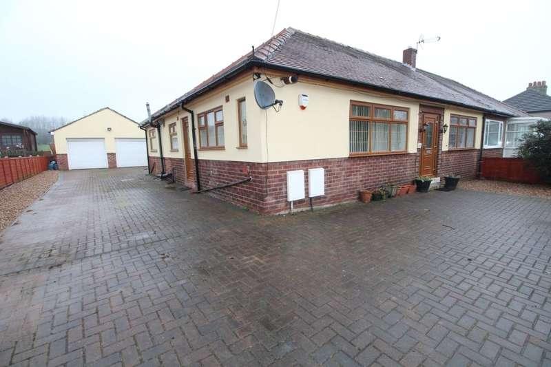 5 Bedrooms Semi Detached Bungalow for sale in Bradley Road, Bradley, Huddersfield, HD2