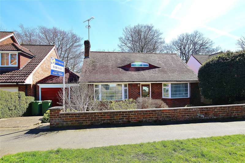 2 Bedrooms Detached Bungalow for sale in Hermitage Woods Crescent, St Johns, Woking, Surrey, GU21