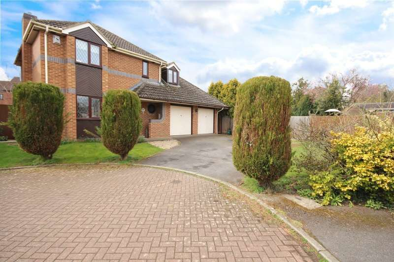 4 Bedrooms Detached House for sale in Anson Close, Marcham, Abingdon, OX13