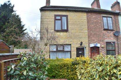 2 Bedrooms End Of Terrace House for sale in Queen Street, Branston, Burton Upon Trent, Staffordshire