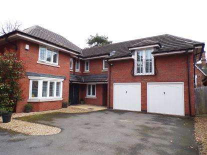5 Bedrooms Detached House for sale in Charlotte Way, Atherstone, Warwickshire