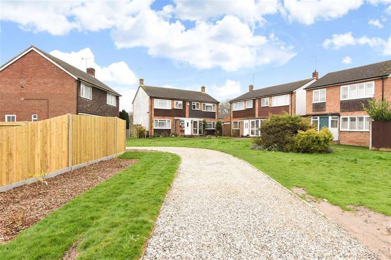 3 Bedrooms Semi Detached House for sale in Barrett Crescent, Wokingham, RG40