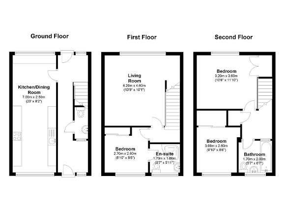 3 Bedrooms Terraced House for sale in Hillcrest, Tadley