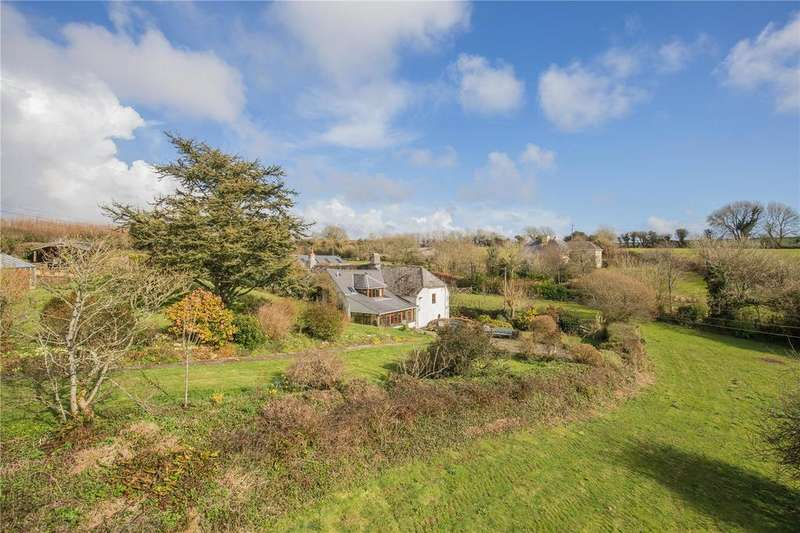 4 Bedrooms Detached House for sale in Shearlangstone, Modbury, Devon, PL21
