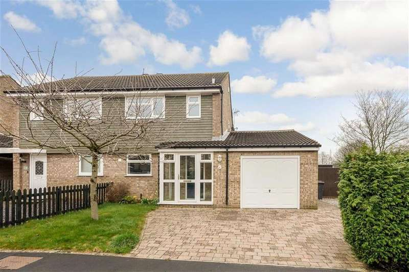 3 Bedrooms Semi Detached House for sale in Bransdale Grove, Knaresborough, North Yorkshire