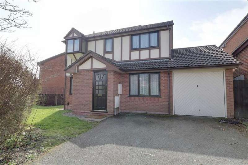 4 Bedrooms Detached House for sale in Jasmin Way, Packmoor, Stoke-on-Trent