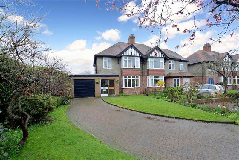 3 Bedrooms Semi Detached House for sale in Wellmeadow Gardens, Copthorne, Shrewsbury, Shropshire