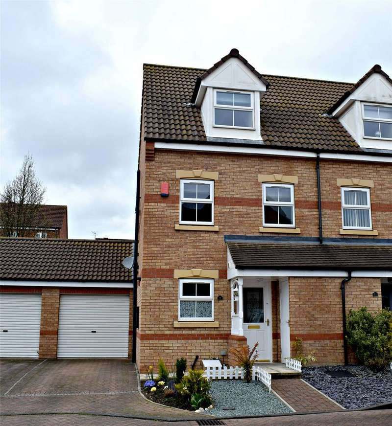3 Bedrooms End Of Terrace House for sale in Falcon Grove, Gainsborough, Lincolnshire, DN21