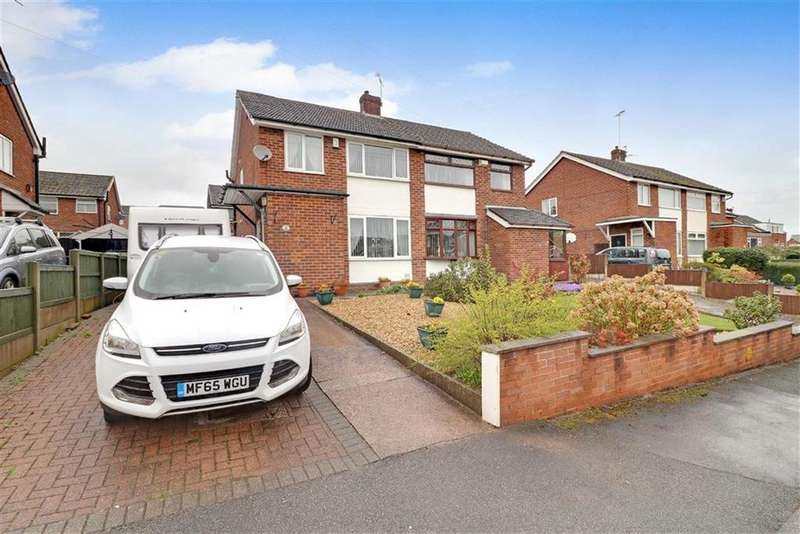3 Bedrooms Semi Detached House for sale in Springbank Crescent, Winsford, Cheshire