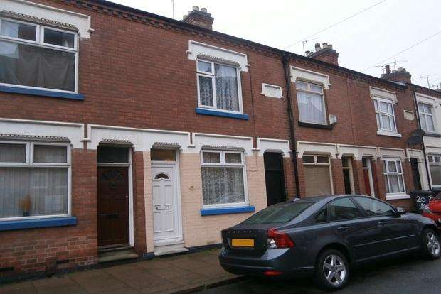 2 Bedrooms Terraced House for sale in Mantle Road, West End, Leicester, LE3