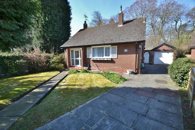2 Bedrooms Detached Bungalow for sale in Spinney Drive, Sale