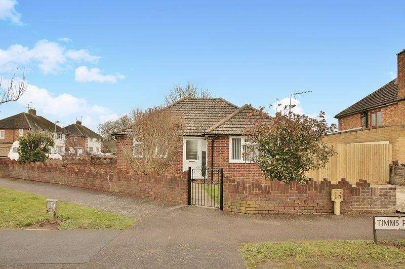 2 Bedrooms Semi Detached Bungalow for sale in 25 Timms Road, Banbury