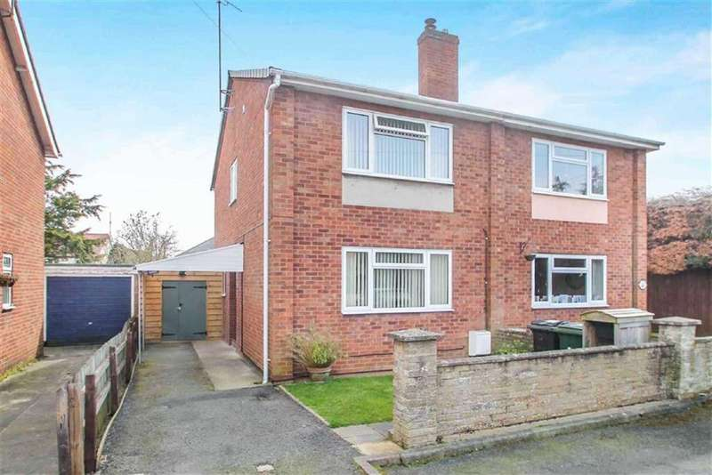 3 Bedrooms Semi Detached House for sale in Livesey Avenue, Ludlow