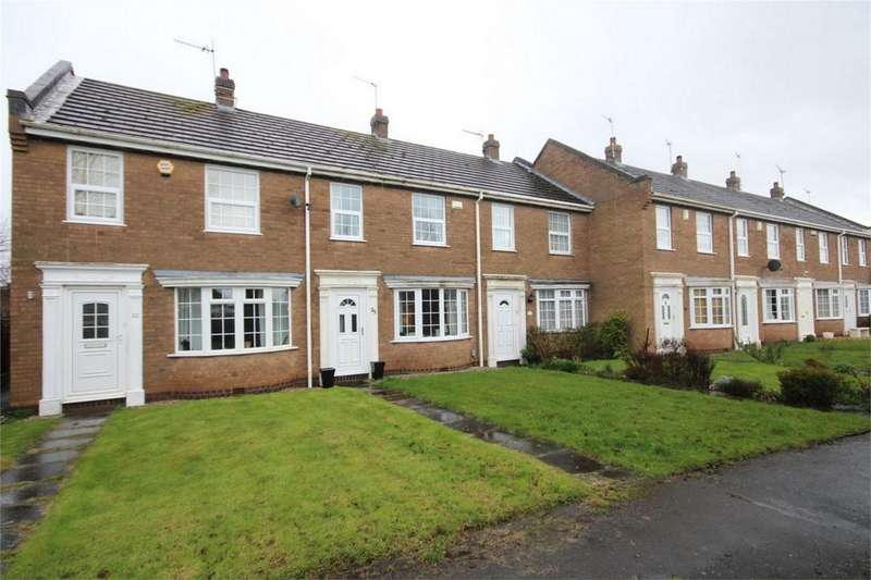 2 Bedrooms Terraced House for sale in Pangbourne Close, St Nicolas Park, Nuneaton, Warwickshire