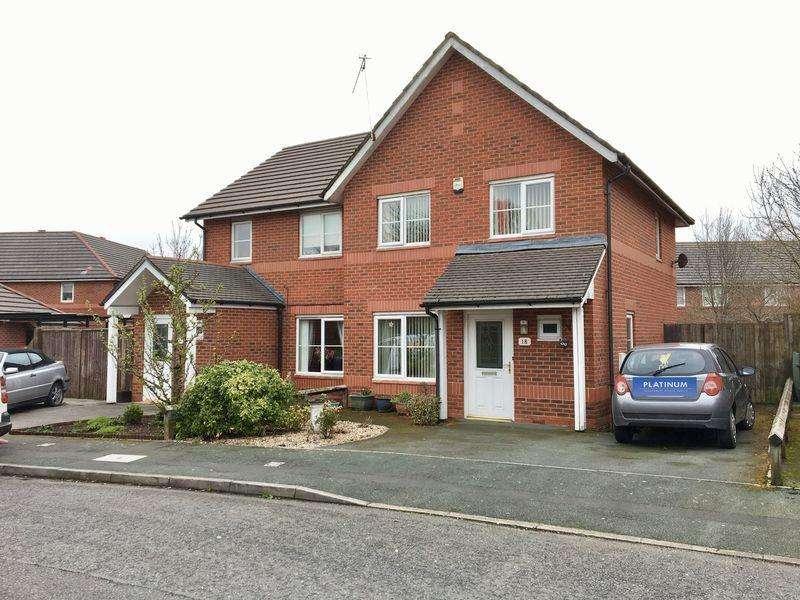 3 Bedrooms Semi Detached House for sale in Bunbury Green, Ellesmere Port
