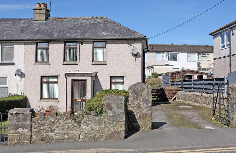 3 Bedrooms End Of Terrace House for sale in Ucheldre, Llangefni, Anglesey