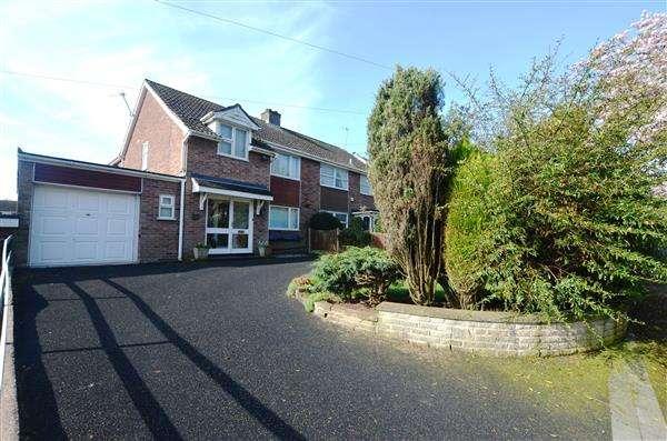3 Bedrooms Semi Detached House for sale in Seabridge Lane, Seabridge, Newcastle