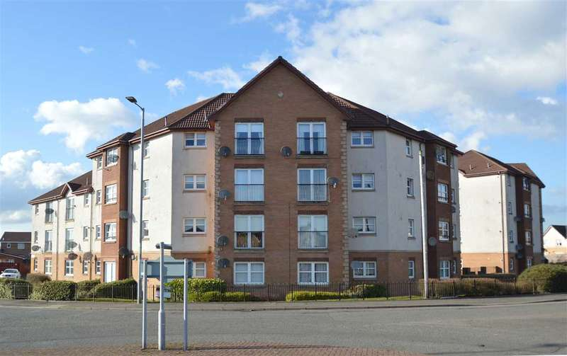 2 Bedrooms Apartment Flat for sale in Lochranza Court, Motherwell