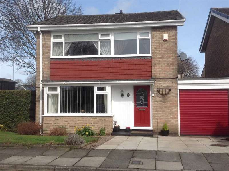 3 Bedrooms Detached House for sale in Gowanburn, Southfield Green, Cramlington