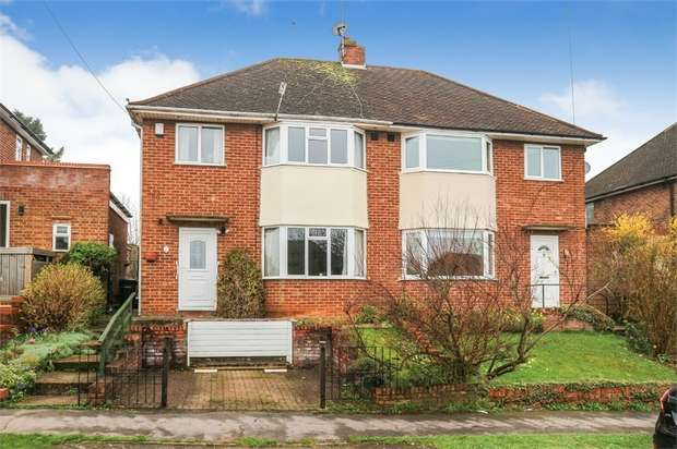 3 Bedrooms Semi Detached House for sale in Hillary Road, High Wycombe, Buckinghamshire