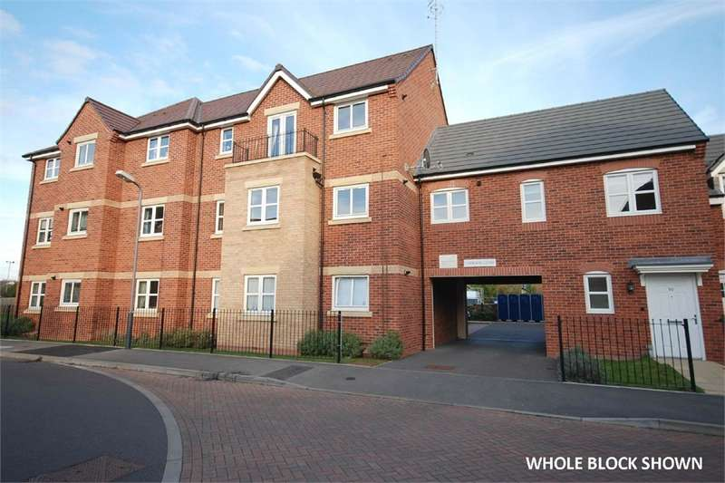 2 Bedrooms Flat for sale in Brodie Close, RUGBY, Warwickshire