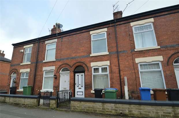 2 Bedrooms Terraced House for rent in Dundonald Street, Heaviley, Stockport, Cheshire