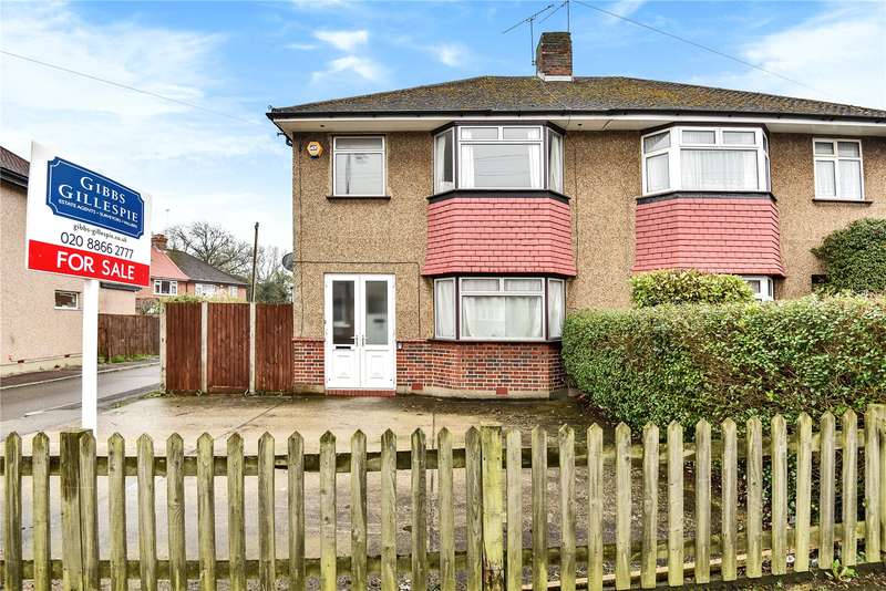3 Bedrooms Semi Detached House for sale in Eastern Avenue, Pinner, HA5