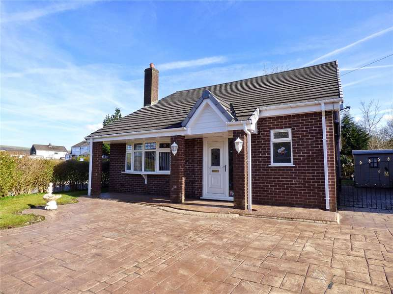 4 Bedrooms Detached Bungalow for sale in Burnside, Hadfield, Glossop, Derbyshire, SK13