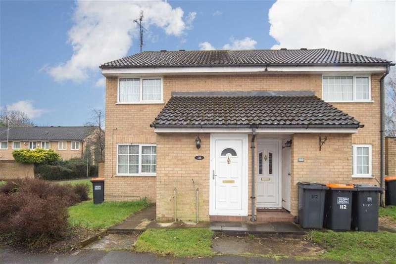 1 Bedroom Flat for sale in Cemetery Road, Houghton Regis, Dunstable, Bedfordshire, LU5