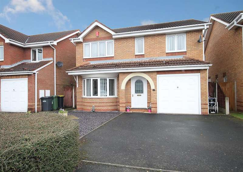 4 Bedrooms Detached House for sale in Greyfriars Drive, Tamworth, B79 7YG