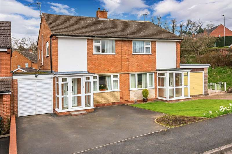 3 Bedrooms Semi Detached House for sale in 95 Well Meadow, Bridgnorth, Shropshire, WV15