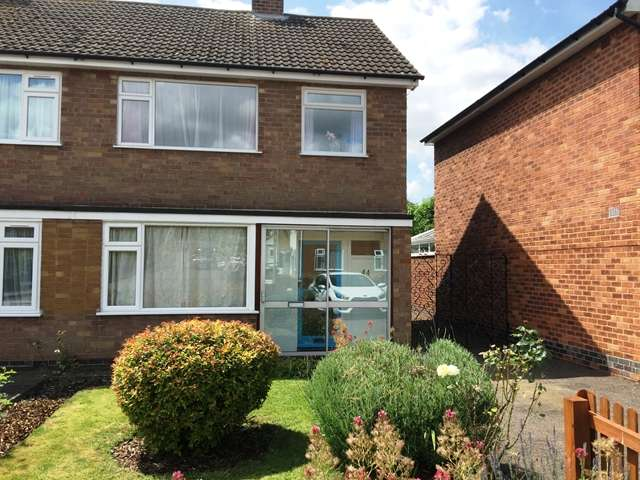 3 Bedrooms Semi Detached House for sale in Stokes Drive, Leicester, Leicestershire, LE3