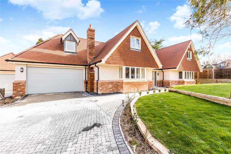 4 Bedrooms Detached House for sale in Mortimer Close, Kings Worthy, Winchester, Hampshire, SO23