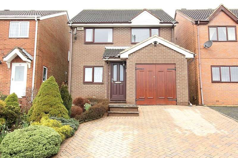 4 Bedrooms Detached House for sale in 27, Bronte Close, Dewsbury, West Yorkshire, WF13 4SA