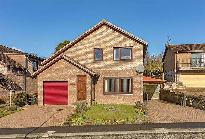 3 Bedrooms Detached House for sale in Norwood Kingsknowe Drive, Galashiels, TD1 3JE