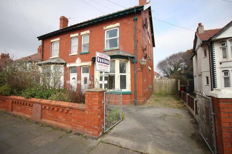 1 Bedroom Semi Detached House for sale in Fleetwood Road, Thornton-Cleveleys