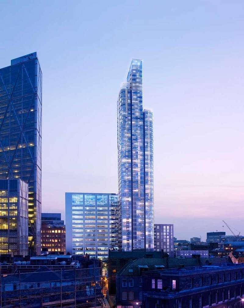 3 Bedrooms Flat for sale in Principle Tower, Worship Street, EC2A