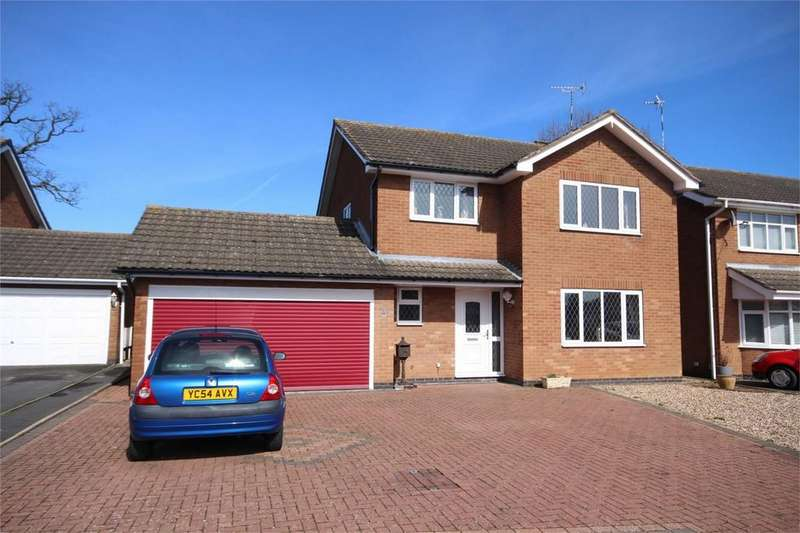 4 Bedrooms Detached House for sale in The Chestnuts, Woodlands Park, BEDWORTH, Warwickshire