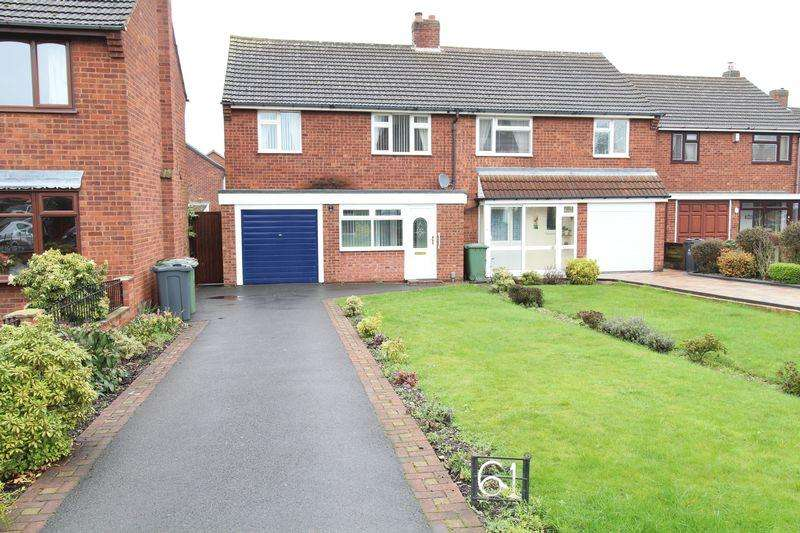 3 Bedrooms Semi Detached House for sale in Lichfield Road, Brownhills