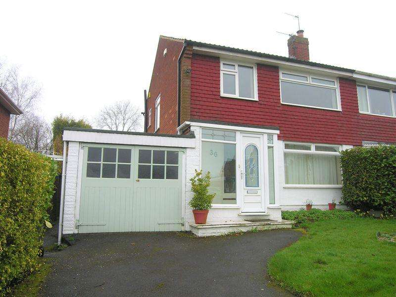 3 Bedrooms Semi Detached House for sale in Greenfields Road, Shelfield