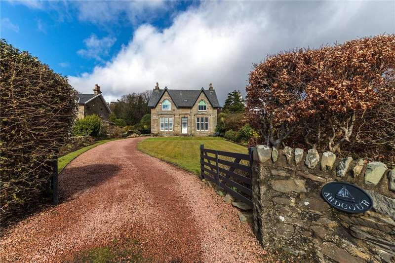 4 Bedrooms Detached House for sale in Ardgour, Shore Road, Kilcreggan, Helensburgh, G84