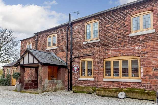 4 Bedrooms Detached House for sale in Shay Lane, Tarvin, Chester, Cheshire