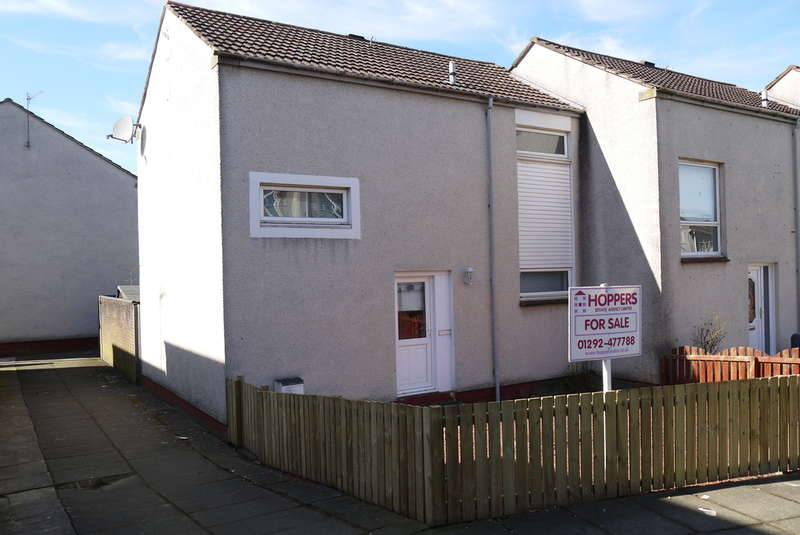 2 Bedrooms End Of Terrace House for sale in Thistle Walk, Ayr, KA7