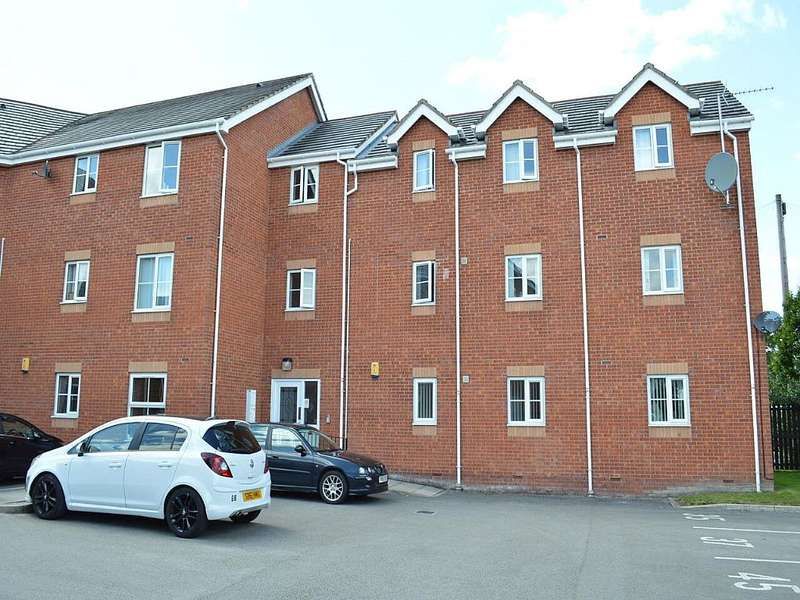2 Bedrooms Apartment Flat for sale in Ashtons Green Drive, St. Helens, Merseyside, WA9 2AP