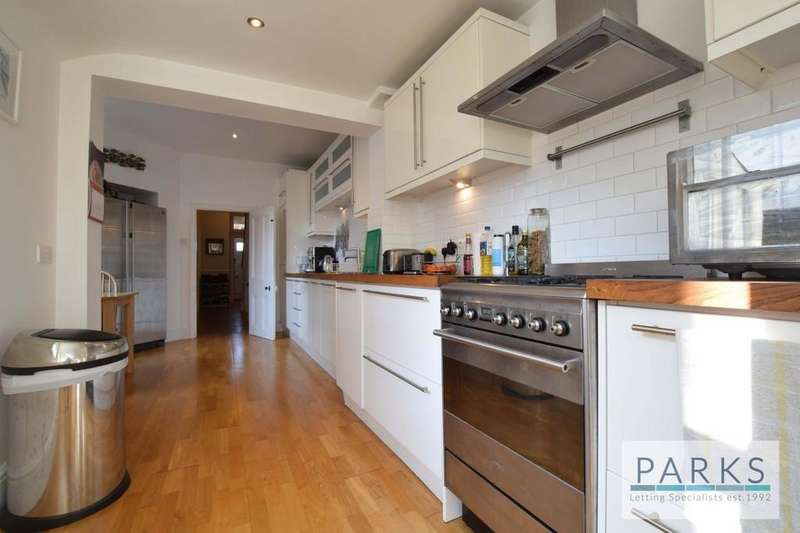 4 Bedrooms Semi Detached House for rent in Chatsworth Road, Brighton, BN1