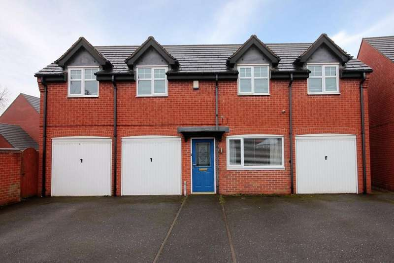 2 Bedrooms Apartment Flat for sale in Donington Drive, Woodville