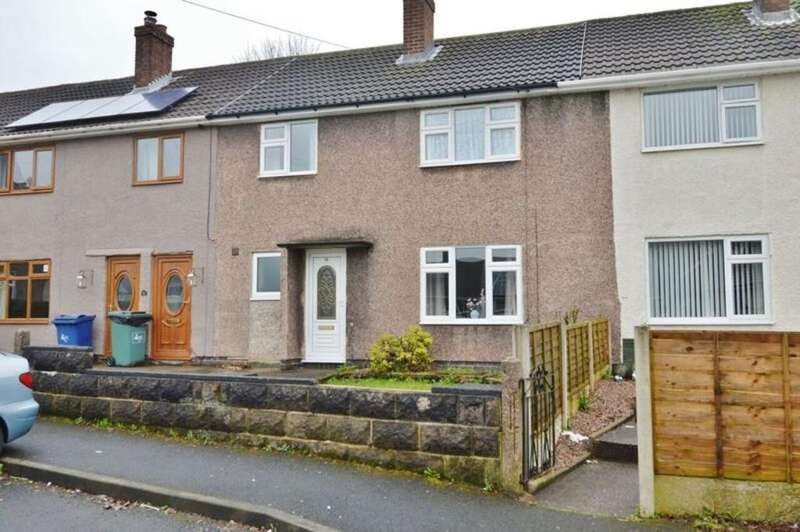 3 Bedrooms Terraced House for sale in Davy Place, Rugeley